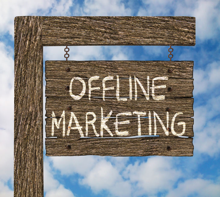 How your offline marketing is supported by your website